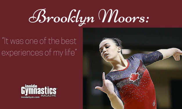 "Brooklyn Moors: ""It was one of the best experiences of my life"""