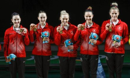 Gold for Canada at Commonwealth Games