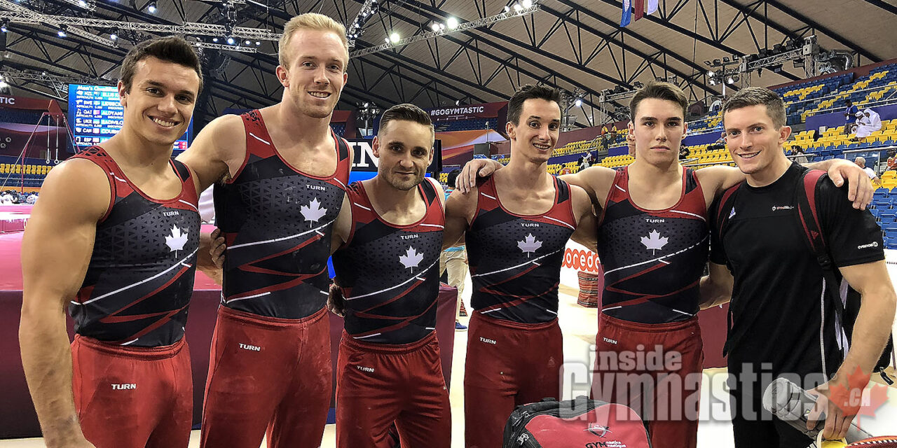 2018 World Artistic Championships – Men's Qualifications