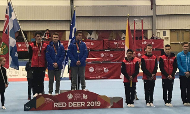 Québec's Félixes 1-2 in Canada Games Men's All Around